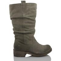 Schuhe Damen Boots MTNG MUSTANG Frauen aufgeteilt GRAU