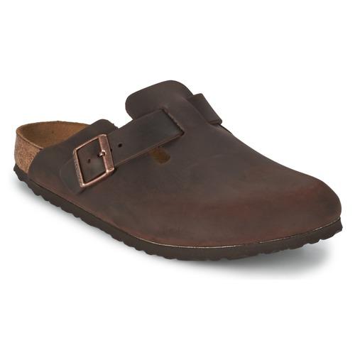 Birkenstock BOSTON Braun  Schuhe Pantoletten / Clogs  99,99