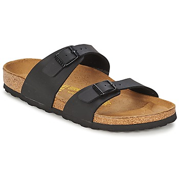 Schuhe Damen Pantoffel Birkenstock SYDNEY Schwarz