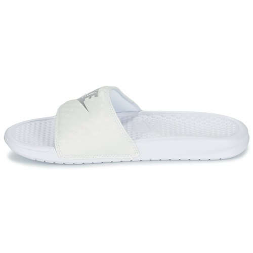 Nike BENASSI JUST DO IT W Weiss / Silbern