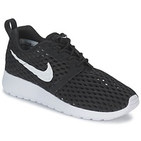Schuhe Jungen Sneaker Low Nike ROSHE ONE FLIGHT WEIGHT BREATHE JUNIOR Schwarz