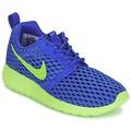 Schuhe Jungen Sneaker Low Nike ROSHE ONE FLIGHT WEIGHT BREATHE JUNIOR Blau / Grün