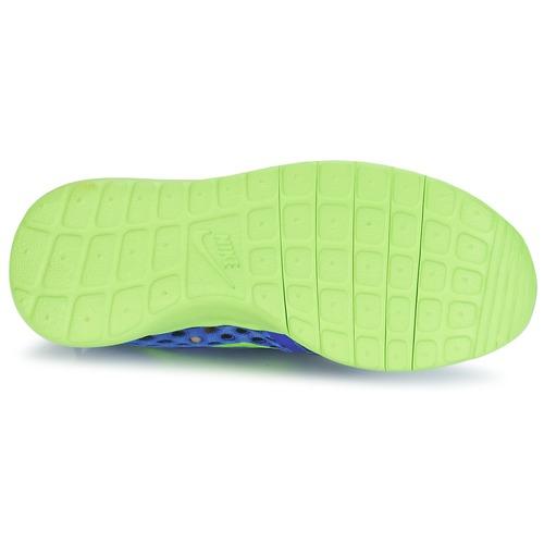Nike ROSHE ONE FLIGHT WEIGHT BREATHE JUNIOR Blau / Gr��n