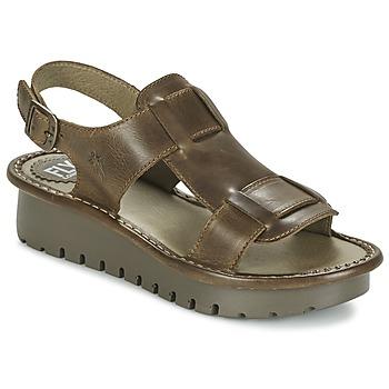 Schuhe Damen Sandalen / Sandaletten Fly London KANI Braun