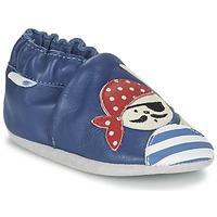 Schuhe Jungen Babyschuhe Robeez JOLLY PEG Blau