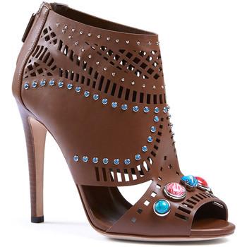 Schuhe Damen Sandalen / Sandaletten Gucci 371057 A3N00 2548 marrone