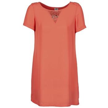 Kleidung Damen Kurze Kleider Vero Moda TRIPPA Korallenrot