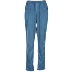 Kleidung Damen Fließende Hosen/ Haremshosen Vero Moda AMINA Blau