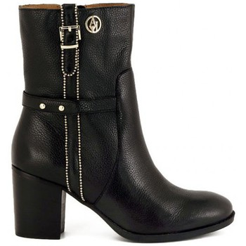 Low Boots Armani STIVALE BLACK