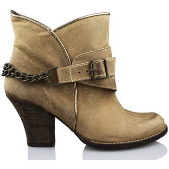 Schuhe Damen Low Boots Vienty ESPUELAS-MOSCU BRAUN