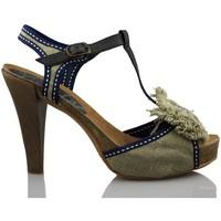 Schuhe Damen Sandalen / Sandaletten Vienty natürlichen Loop-Bänder BEIGE