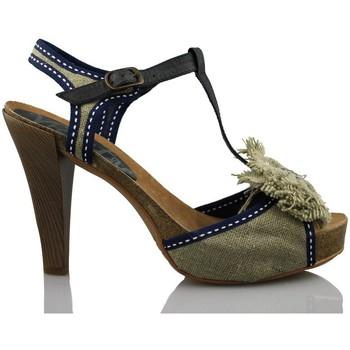 Sandalen / Sandaletten Vienty natürlichen Loop-Bänder