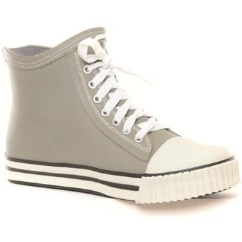 Schuhe Damen Sneaker High Cassis Côte d'Azur Cassis No Blues Baskets Bolero gris Grau