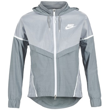 Kleidung Damen Windjacken Nike TECH WINDRUNNER Grau