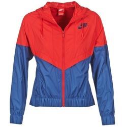 Kleidung Damen Windjacken Nike WINDRUNNER Marine / Rot
