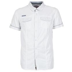 Kleidung Herren Kurzärmelige Hemden Deeluxe ISLANDO Weiss