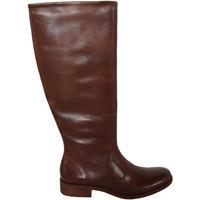 Schuhe Damen Klassische Stiefel Kickers 320122-50 LONDON HIGH Marrón