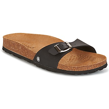Schuhe Damen Pantoffel Casual Attitude TERTROBAL Schwarz