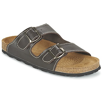 Schuhe Herren Pantoffel Casual Attitude TERTROBAL Braun