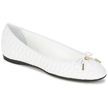 Schuhe Damen Ballerinas Roberto Cavalli XPS151-PN119 Weiss