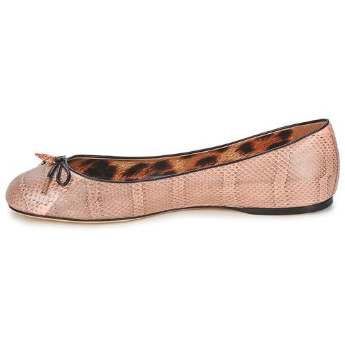 Roberto Cavalli XPS151-UB043 Rose  Schuhe Ballerinas Damen 423,20