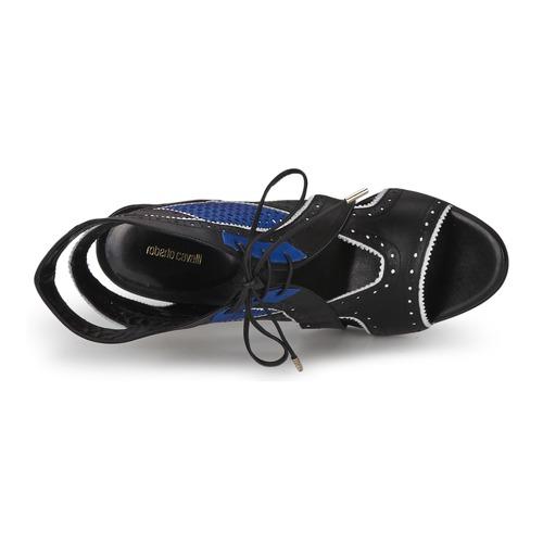Roberto / Cavalli XPS254-PZ448 Schwarz / Roberto Blau  Schuhe Sandalen / Sandaletten Damen 623,20 df866b
