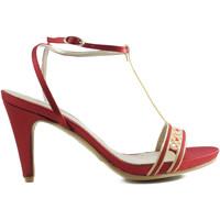 Schuhe Damen Sandalen / Sandaletten Angel Alarcon ANG ALARCON OPORTO ROT