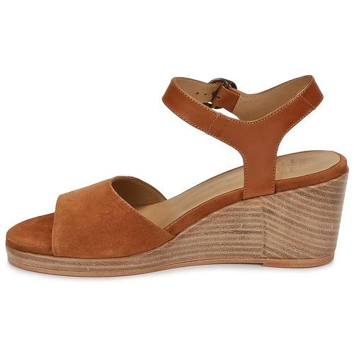 N.d.c. LAS SALINAS SALINAS SALINAS Cognac  Schuhe Sandalen / Sandaletten Damen 192,50 35b908