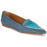 Schuhe Damen Ballerinas Castaner KATY Blau