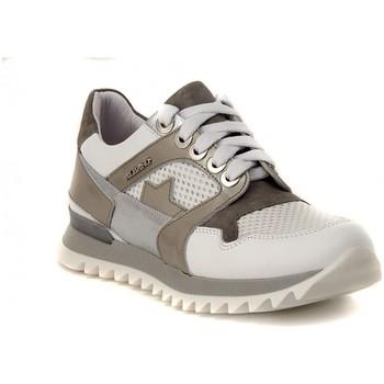 Schuhe Damen Sneaker Low Albano GINNICA NAPPA BIANCA