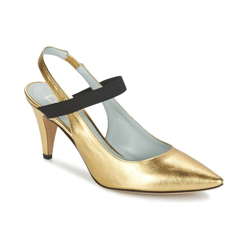 Marc Jacobs VALERY Gold  Schuhe Pumps Damen 340