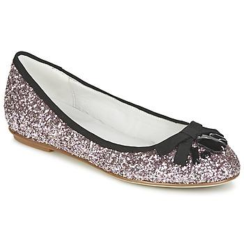 Schuhe Damen Ballerinas Café Noir BOLERA Glitterfarbe / Schwarz