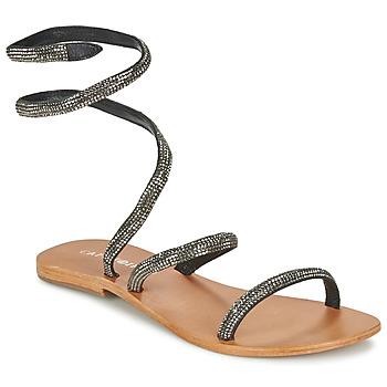 Schuhe Damen Sandalen / Sandaletten Café Noir CAMPIBALO Grau