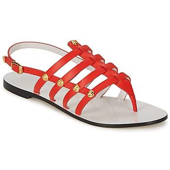 Schuhe Damen Sandalen / Sandaletten Versace DSL944C Korallenrot