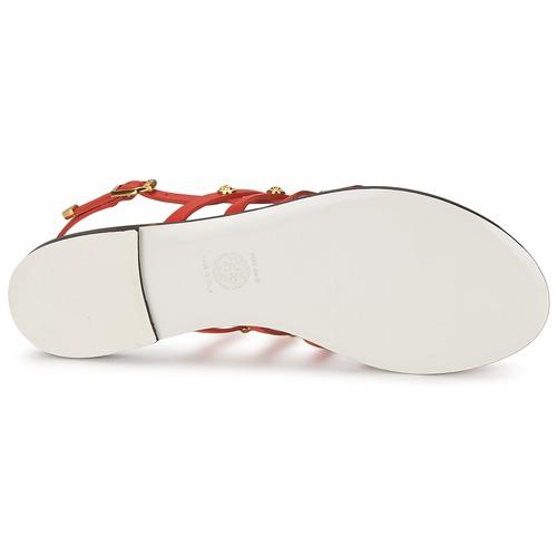 Versace DSL944C Korallenrot  Schuhe Sandalen / Sandaletten Damen 239,50