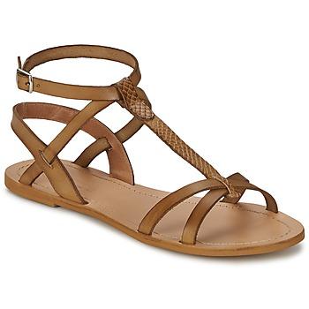 Schuhe Damen Sandalen / Sandaletten So Size BEALO Braun