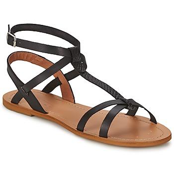 Schuhe Damen Sandalen / Sandaletten So Size BEALO Schwarz