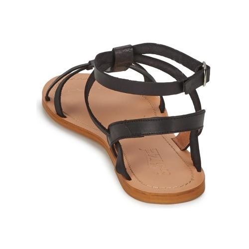 So Size BEALO Schwarz Schuhe Sandalen / Sandaletten Damen 41,99