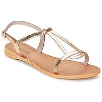 Schuhe Damen Sandalen / Sandaletten Les Tropéziennes par M Belarbi HAMESS Goldfarben