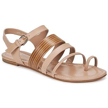 Schuhe Damen Sandalen / Sandaletten Hugo Boss Black PERNILLE Beige