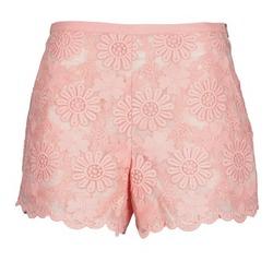 Kleidung Damen Shorts / Bermudas Manoush AFRICAN SHORT Korallenrot