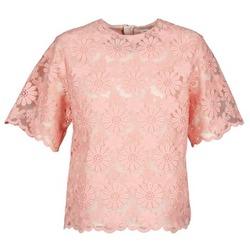 Kleidung Damen Tops / Blusen Manoush AFRICAN BLOUSE Korallenrot