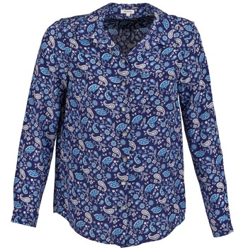 Kleidung Damen Hemden Manoush BANDANA SILK Blau