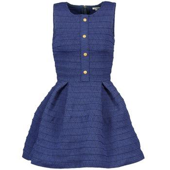 Kleidung Damen Kurze Kleider Manoush ELASTIC Blau