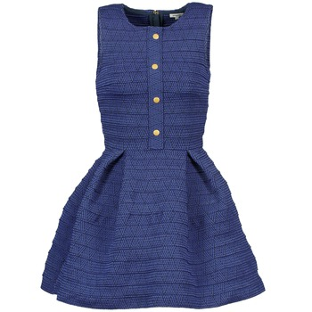 Kleider Manoush ELASTIC Blau 350x350