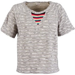 Kleidung Damen T-Shirts Manoush ETNIC SWEAT Grau