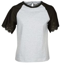 Kleidung Damen T-Shirts Manoush FANCY Grau / Schwarz