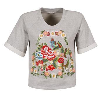 Kleidung Damen T-Shirts Manoush GIPSY Grau
