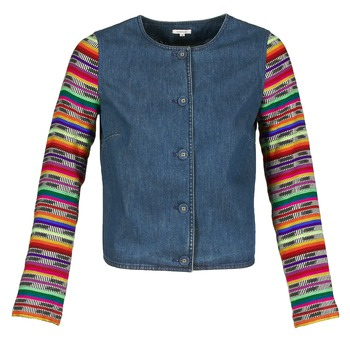 Kleidung Damen Jacken / Blazers Manoush INDIAN DENIM Blau