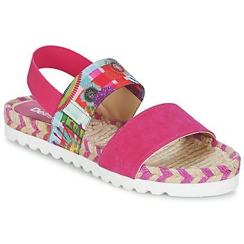Schuhe Damen Sandalen / Sandaletten Desigual FORMENTERA Rose